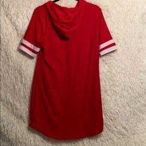 Ultra Flirt Dresses - Juniors XL Hoodie Dress